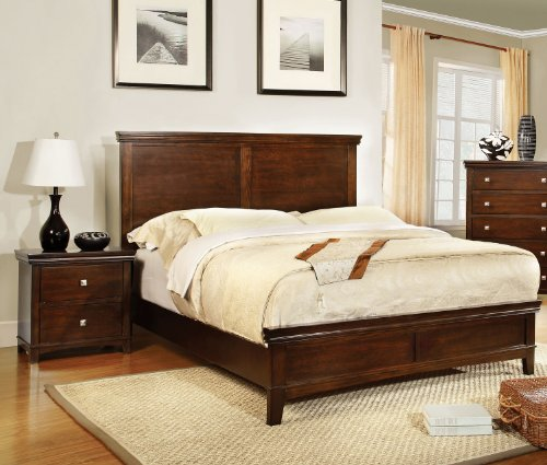 solid wood bedroom set - 1