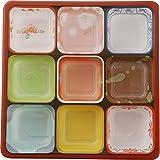 タカギ産業 使い捨て容器 夢彩ごぜんボックス/柄付 中仕切3 300枚入 TSR-BOX70-70