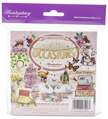 Hunkydory Square Little Book of All Ocassions- 150 Pages 5x5-inches LBSQ123