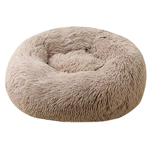 BAJIE Dog round bed,Soft Modern Ultra Soft Warm Pet Bed Puppy Dog Mat Sleeping Cushion Suits For Small Medium pet Padded Bed Bolster Bed (Color : N, Size : 40cm)