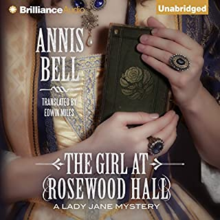 The Girl at Rosewood Hall audiobook cover art