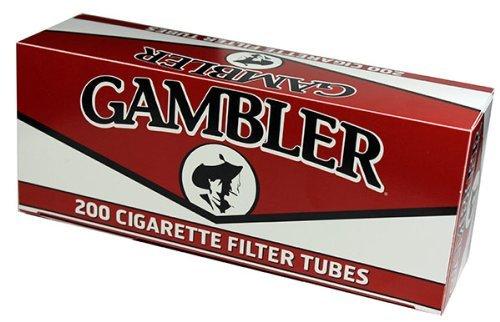 Gambler REGULAR KING SIZE RYO Cigarette Tubes 200ct Box (5 Boxes)