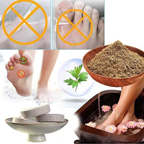 Poudre pour les pieds de lavande Pied Effervescent Wormwood bain de pieds Sac Soins des pieds