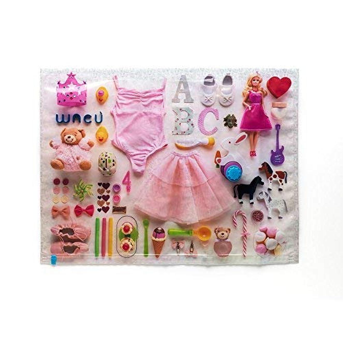 Wacù Space-Saving Vacuum Bag - The Little Princess - Size M