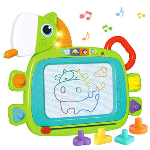 REMOKING お絵描きボード お絵かきおもちゃ 女の子 男の子 おもちゃ 磁石ボード 知育玩具 可愛いポニー か...