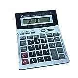 8-stelliger englisch sprechender Taschenrechner mit Alarm, Zeitanzeige, Geldscheinprüfung, Bürocomputer