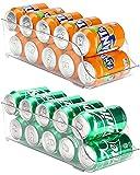 Puricon 【2Packs】 Organizador de Latas y Botellas para...