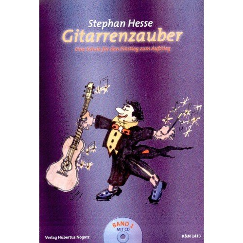 Hubertus Nogatz Verlag Gitarrenzauber Band 1 mit CD
