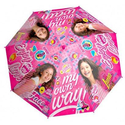 PERLETTI perletti5039048x 8cm niña Soy Luna 2Impreso Paraguas a Prueba de Viento