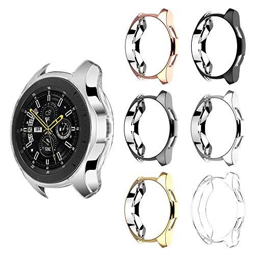 Dreamtop - Carcasa para Samsung Galaxy Watch de 46 mm y Samsung Gear S3 (6 Unidades), Carcasa Protectora de TPU Suave y Delgada para Samsung Galaxy Watch de 46 mm SM-R800