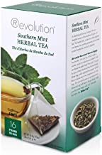 Revolution Tea Southern Mint Herbal Tea, Caffeine Free, 16-Count Teabags (Pack of 6)