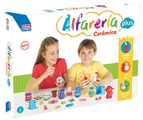 Falomir Alfarería Plus, Juego de Mesa, Manualidades (26540)