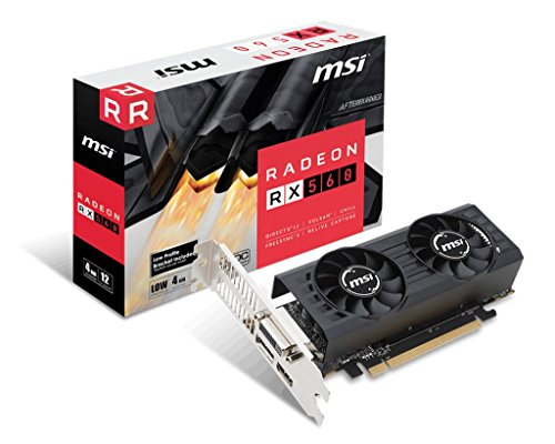 MSI RX 560 4GT LP OC Graphic Cards RX 560 4GT LP OC