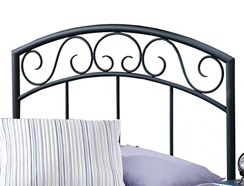 Hillsdale Furniture Traditional Wendell Headboard Without Rails, Twin, Black