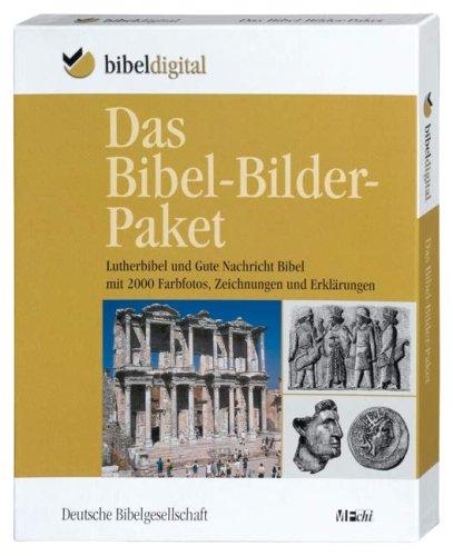 Das Bibel-Bilder-Paket, 1 CD-ROMLuther-Bibel und Gute Nachricht Bibel mit 2000 Farbfotos, Zeichnungen und Erklärungen. Mit Erschließungsprogramm MFchi. Für Windows ab 98