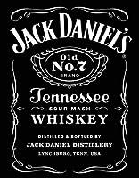 なまけ者雑貨屋 Jack Daniel's Black Logo ブリキ看板 ガレージ アメリカン ホットロッド メタルプレート レトロ アンティーク 復古調 ブリキ看板 ガレージ アメリカン 復刻版 アンティーク風 雑貨 おしゃれ インテリア