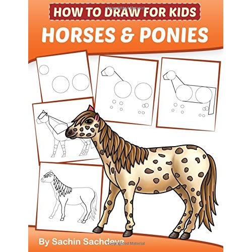 How To Draw For Kids Horses Ponies An Easy Step By Step Guide