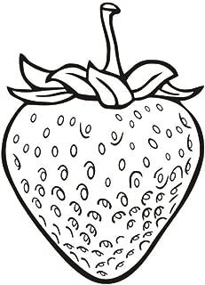 Frutas Fresa Tatuajes De Pared Comida De Fruta Decoración Del Hogar Cocina Vinilo Adhesivo Arte Etiqueta De La Pared Extraíble 32 * 44 Cm
