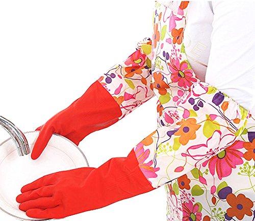 Des gants imperméables Velvet Worm Gants de nettoyage de la vaisselle -11