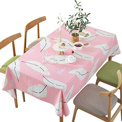 marca blanca Jacquard Design Table Cloth- Rectangle Tablecloths Shrink Resistant Spill Proof Table Covers Dust-Proof Table Tops for Kitchen Dining Patio Outdoor Party 140x220cm