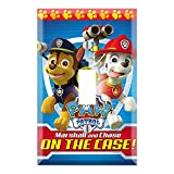 Single Toggle Wall Switch Cover Plate Décor Wallplate - Paw Patrol Marshall and Chase