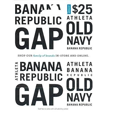 Gap Options (Multibrand) $25 Gift Card