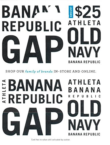 Gap Options (Multibrand) $25 Gift Card