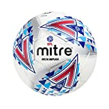Mitre E.F.L Football The Official Replica of The EFL Delta, White, Size 5
