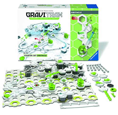 Ravensburger GraviTrax Obstacle Course Set - Marble Run and STEM Toy for Boys and Girls Age 8 and Up - 2019 Toy of The Year Finalist GraviTrax