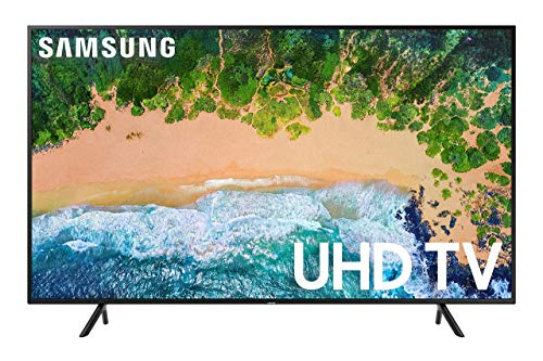 Samsung UN58NU6080FXZA Flat 58-Inch 4K UHD 6080 Series Ultra HD Smart TV (2018) (Renewed)