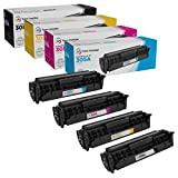 LD Compatible Toner Cartridge Replacements for HP 305A (1 Black, 1 Cyan, 1 Magenta, 1 Yellow, 4-Pack)