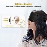 Zoom IMG-2 mascherina per dormire gritin occhi