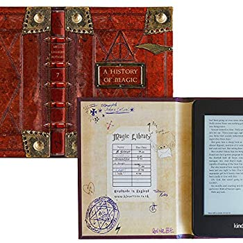 Kindle Paperwhite Case with Harry Potter Themed Foldback Book Cover  New History of Magic