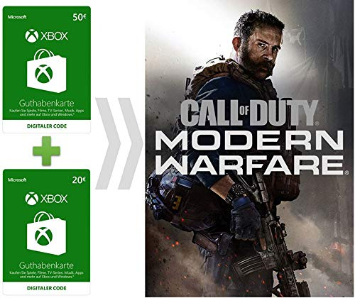 Xbox Live Guthaben für Call of Duty - Modern Warfare | Xbox Download Code