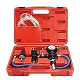 Pumprout Kit de Herramientas de Repuesto de anticongelante de refrigeración de radiador de Coche para Coche, Bomba de vacío, Sistema de refrigerante, inyector anticongelante