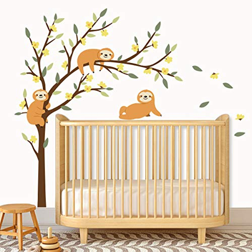 Sloths Wall Decal