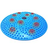 Daiwa Felicity Foot Massager Reflexology Mat with Magnetic Therapy Acupressure Disc