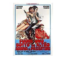 通りすがりの人が来る(1973)ジョージヒルトンウエスト/アドベンチャー映画ファッショントレンド美しい家のアートの装飾ポスターウォールデコギフト-20x30インチフレームなし