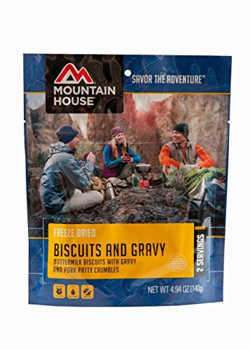 Mountain House Biscuits and Gravy 4.94 oz. Pouch 2-Pack