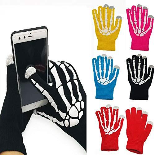 WOTEMAILE Unisex Winter Warme Handschuhe Lustige Touchscreen Kapazitive Handschuhe Vollfinger Ski Bike Handschuhe