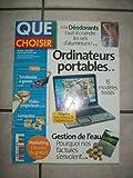 QUE CHOISIR N? 448 du 01-05-2007 DEODORANTS / FAUT-IL CRAINDRE LES SELS D'ALUMINIM - ORDINATEURS PORTABLES - GESTION DE L'EAU -...