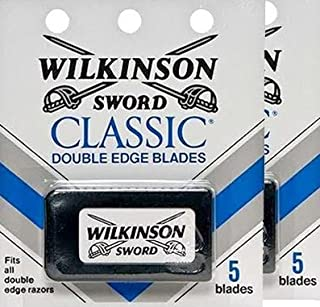 Wilknson D/E Blades 5ct Size 5ct (PACK OF 2)