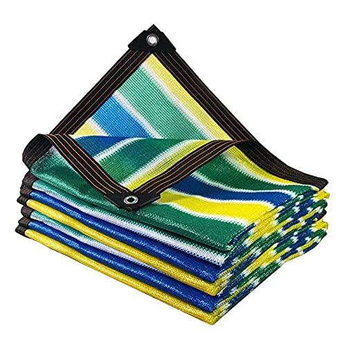 WZHIJUN 90% tela de protección solar para exteriores, terraza, jardín, invernadero, invernadero, antiUV, color (color: A,...