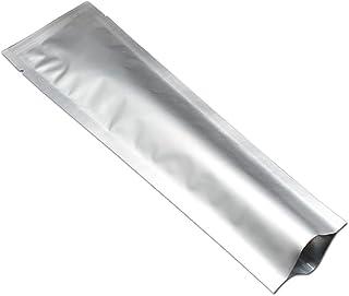 100 unidades de bolsas de plástico termosellables para almacenar alimentos y café, bolsas de vacío para la muestra, embala...