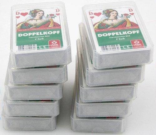Zehnerpaket DOPPELKOPF Französisches Bild ASS Qualität Spielkarten