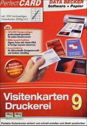 Visitenkarten-Druckerei 9 mit Papier