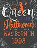 Halloween Gifts for Women : Queen of Halloween Was Born in 1998: Personalized 23rd Birthday Gifts For Mom Daughter Wife Sister Born in December November 1998 .