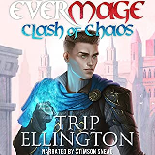 EverMage: Clash of Chaos audiobook cover art