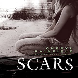 Scars                   By:                                                                                                                                 Cheryl Rainfield                               Narrated by:                                                                                                                                 Emily Bauer                      Length: 6 hrs and 34 mins     79 ratings     Overall 4.4