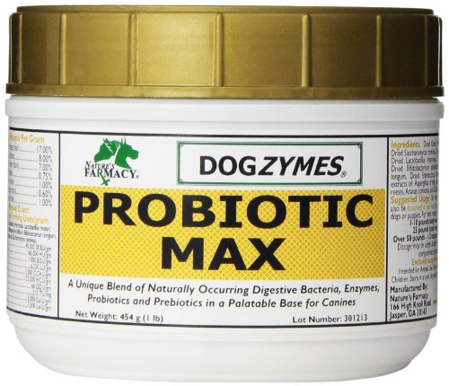 Dogzymes Probiotic Max, 1-Pound